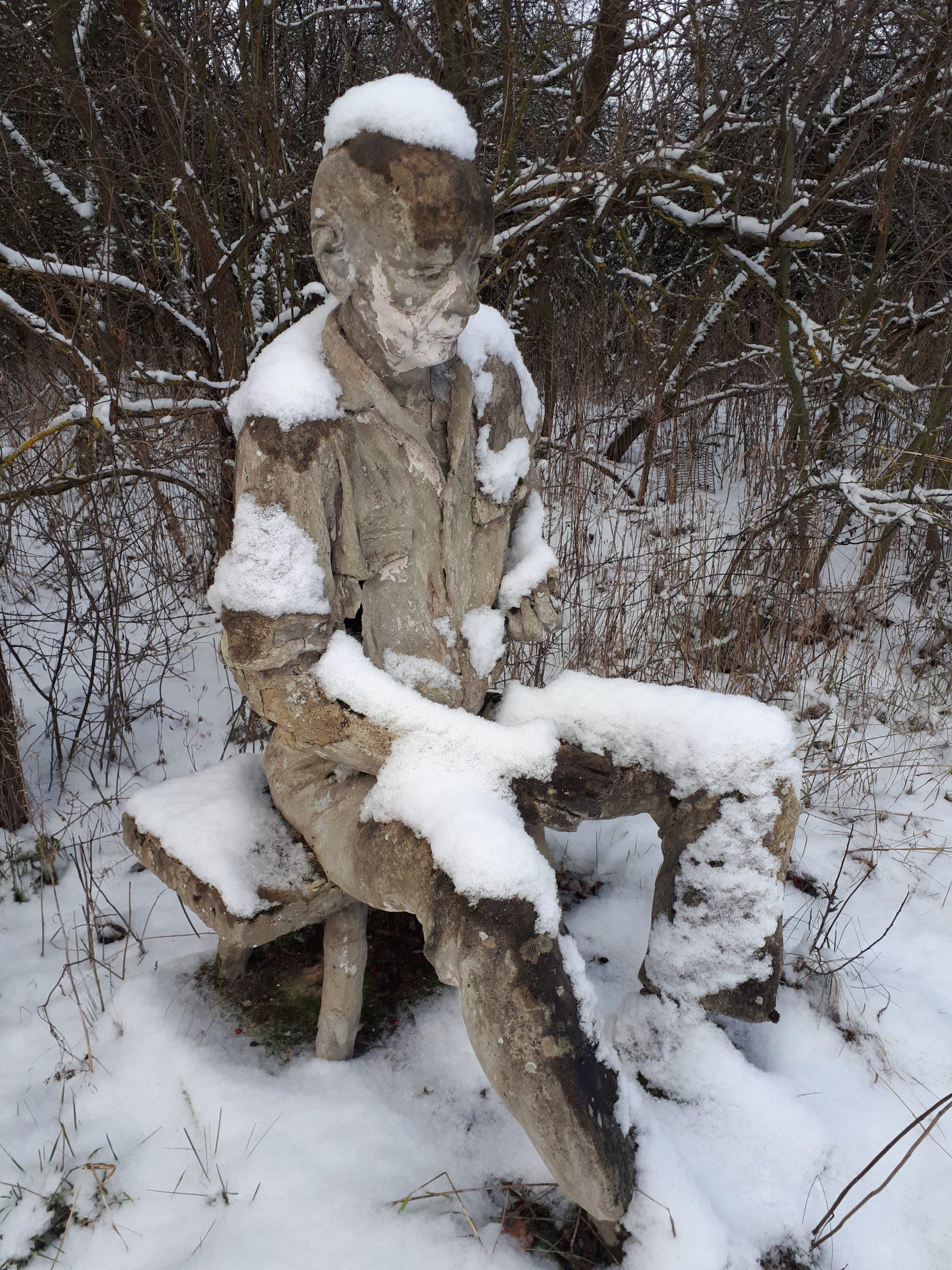 Begegnung im Winter
