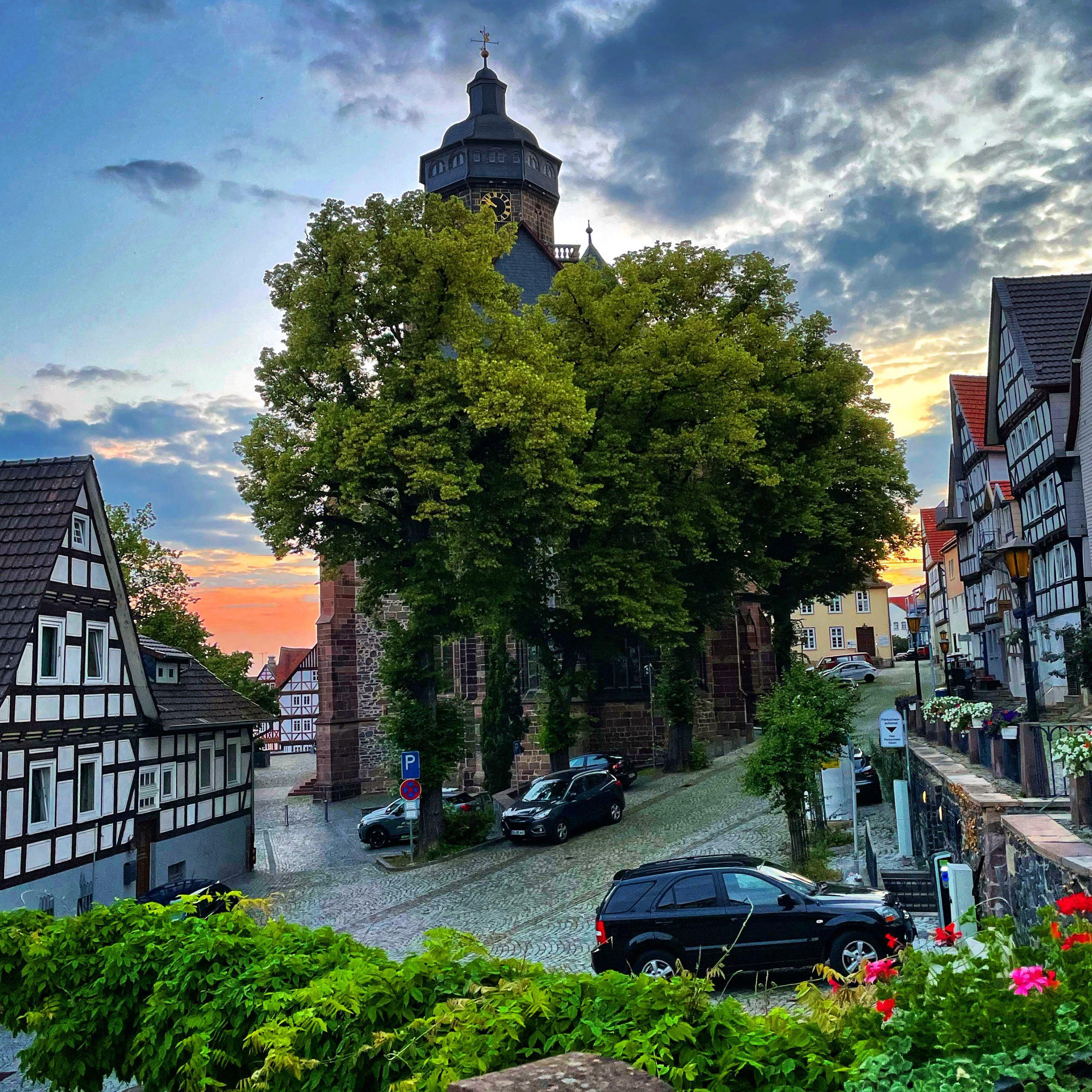 Sommerabend im Homberg
